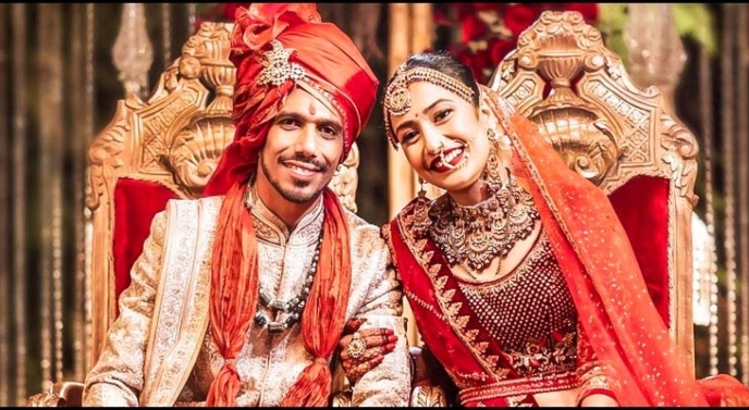 Yuzvendra Chahal gets married to a Youtuber, pictures go viral
