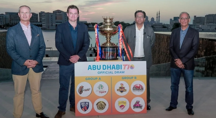 Abu Dhabi T10 league complete squads and schedule