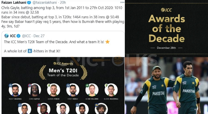 Twitter reacts on ICC teams, awards of the decade