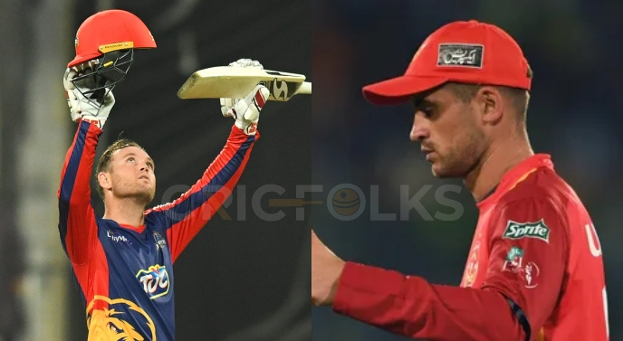 Karachi Kings, Islamabad United exchange Alex Hales, Colin Ingram with each other