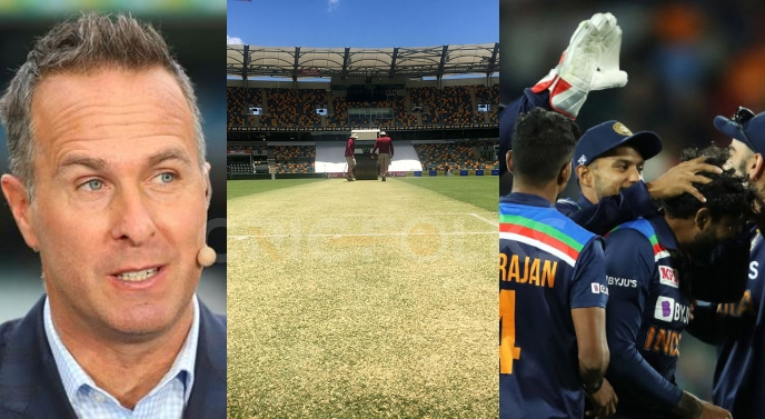 COVID restrictions or pitch? Michael Vaughan trolls Team India