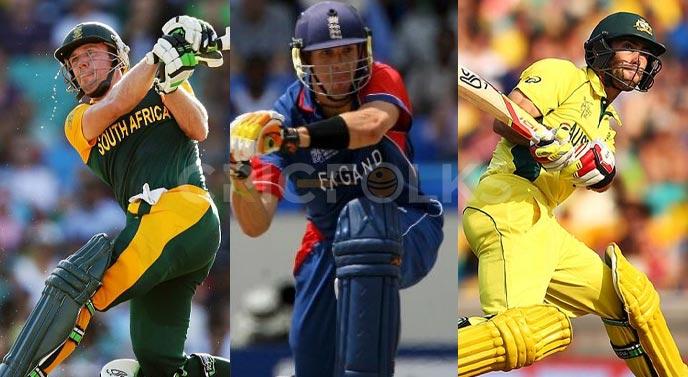 cricket, 360 degree shots