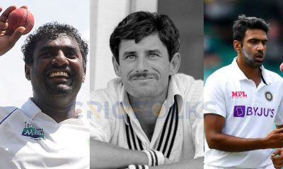 Top three fastest to 400 Test wickets