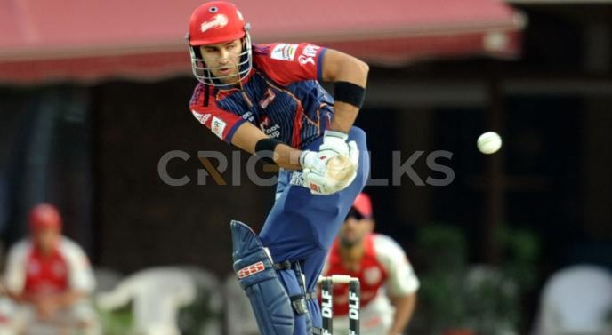 Delhi Daredevils against Kings XI Punjab, IPL 2011