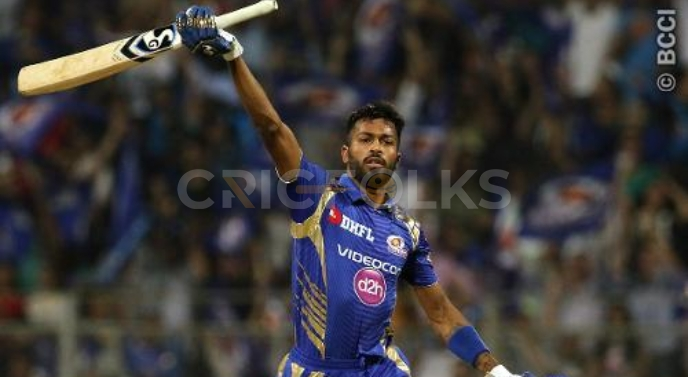 He is the first Indian with the best batting strike rate in IPL and ranks fourth, seeing the overall top ten best batting strike rate in IPL. Pandya's SR is 159.26 at an average of 29.97