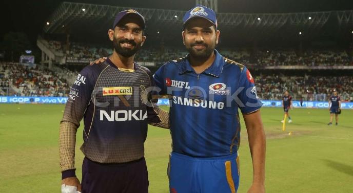 Kolkata Knight Riders against Mumbai Indians, IPL 2019