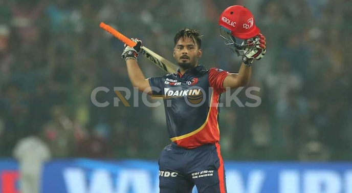 Rishabh posted 128 runs and remained not out against the Sun Risers Hyderabad (SRH) in 2018