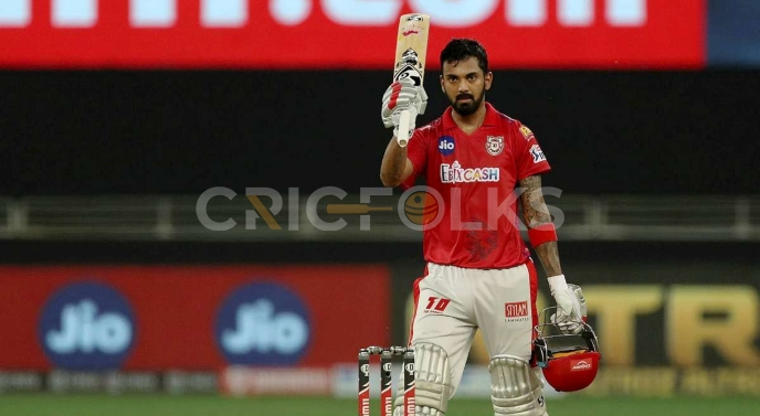 Rahul has gathered 2079 runs with the highest score of 132*