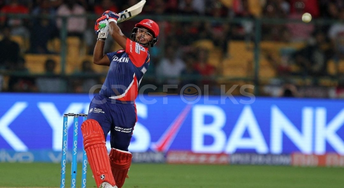 Rishabh Pant, the crucial player from the Delhi Daredevils, maintains a strike rate of 151.97