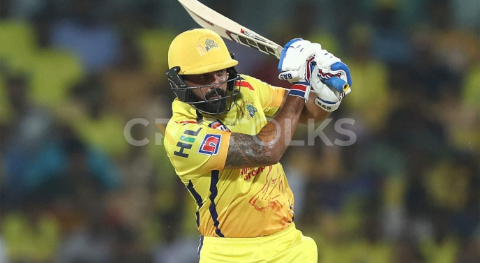 Vijay helped his team to the conquest as he made 127 runs in 56 balls in IPL 2010