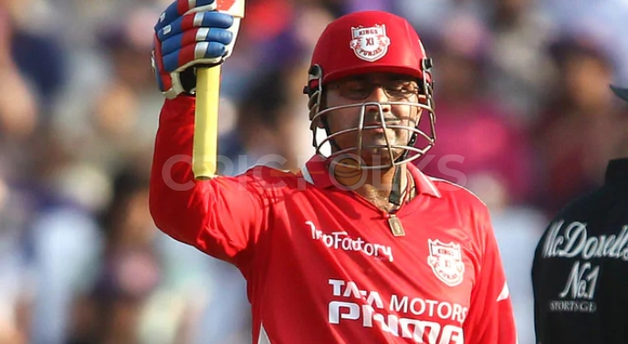 Sehwag's strike rate of 155.44 places him on the seventh rank among the top ten best batting strike rates in IPL