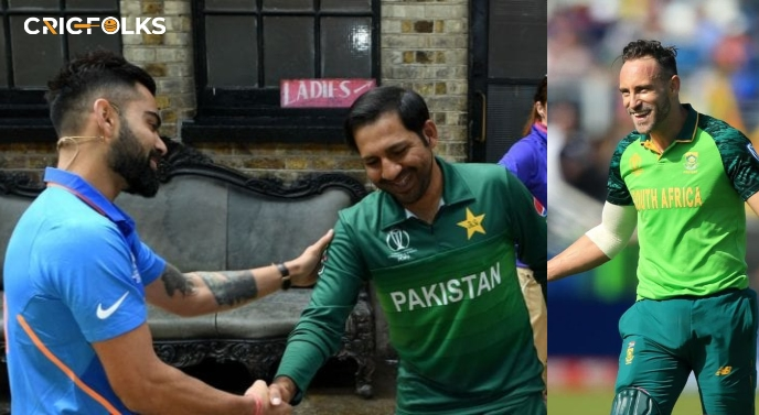 Sarfaraz or Kohli, who is the better captain? Tells Du Plessis