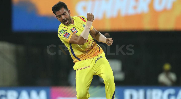 Deepak Chahar, one of the Indian Players who earn more money from their central contracts than IPL