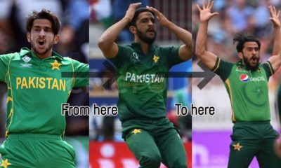 The return of Original 'Hasan Ali' from the Champions Trophy 2017