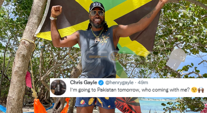 Pakistan is safe, Chris Gayle ready to tell the world