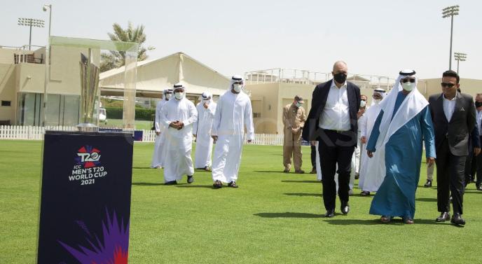 BCCI unveils T20 World Cup 2021 trophy in Dubai