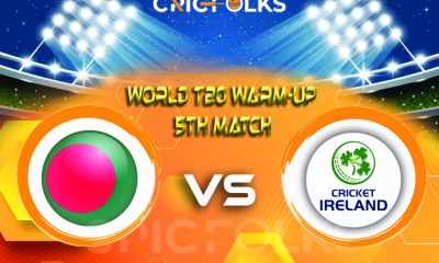 BAN vs IRE Live Score, ICC T20 World CupWarm-Up Match2021 Live Score Updates, Here we are providing to our visitors BAN vs IRELive Scorecard Today Match in..
