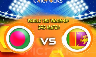 BAN vs SL Live Score, World T20 Warm-Up Match2021 Live Score Updates, Here we are providing to our visitors BAN vs SLLive Scorecard Today Match in our ........