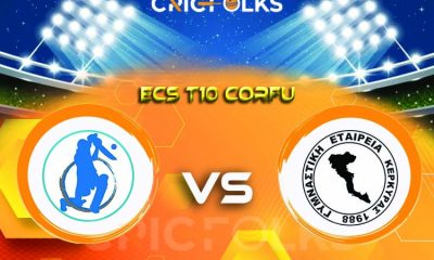 FOR vs GEK Live Score, ECS T10 Corfu 2021 Live Score Updates, Here we are providing to our visitors FOR vs GEK Live Scorecard Today Match in our official site ..