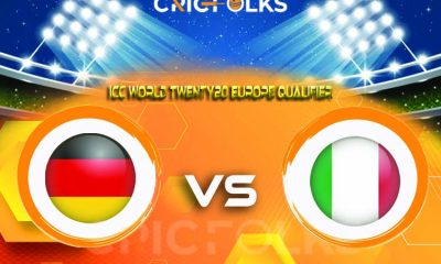 GER vs ITA Live Score, ICC World Twenty20 Europe Qualifier, 2021 Live Score Updates, Here we are providing to our visitors GER vs ITA Live Scorecard Today Match