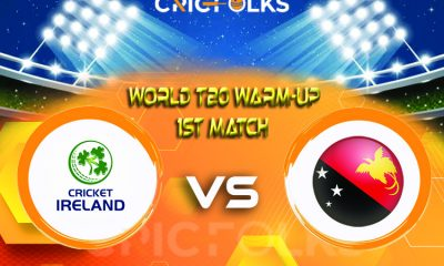 IRE vs PNG Live Score, World T20 Warm-Up Match2021 Live Score Updates, Here we are providing to our visitors IRE vs PNGLive Scorecard Today Match in our......