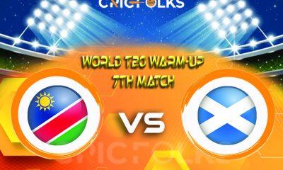 NAM vs SCO Live Score, ICC T20 World CupWarm-Up Match2021 Live Score Updates, Here we are providing to our visitors NAM vs SCOLive Scorecard Today Match in ..