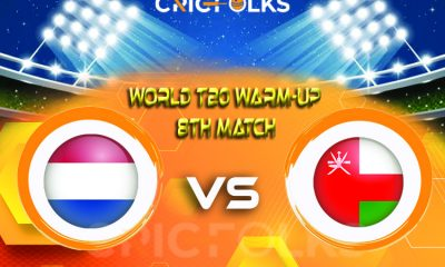 NED vs OMN Live Score, ICC T20 World CupWarm-Up Match2021 Live Score Updates, Here we are providing to our visitors NED vs OMNLive Scorecard Today Match in..