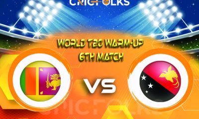 SL vs PNG Live Score, ICC T20 World CupWarm-Up Match2021 Live Score Updates, Here we are providing to our visitors SL vs PNGLive Scorecard Today Match in our
