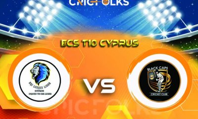 SLL vs BCP Live Score, ECS T10 Cyprus 2021 Live Score Updates, Here we are providing to our visitors SLL vs BCP Live Scorecard Today Match in our official site.