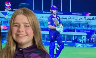 The baby girl behind Scotland T20 World Cup jersey